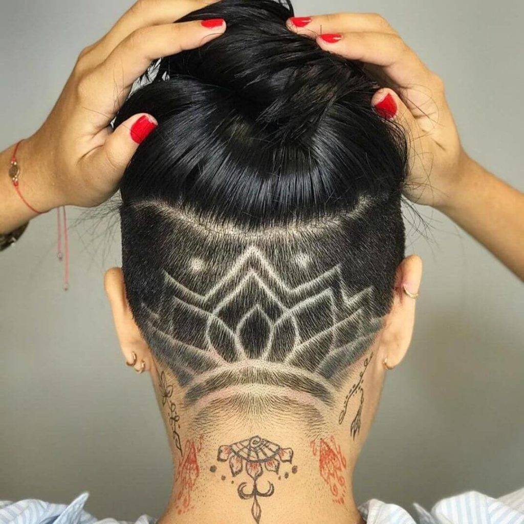 Undercut Designs hairstyles for women