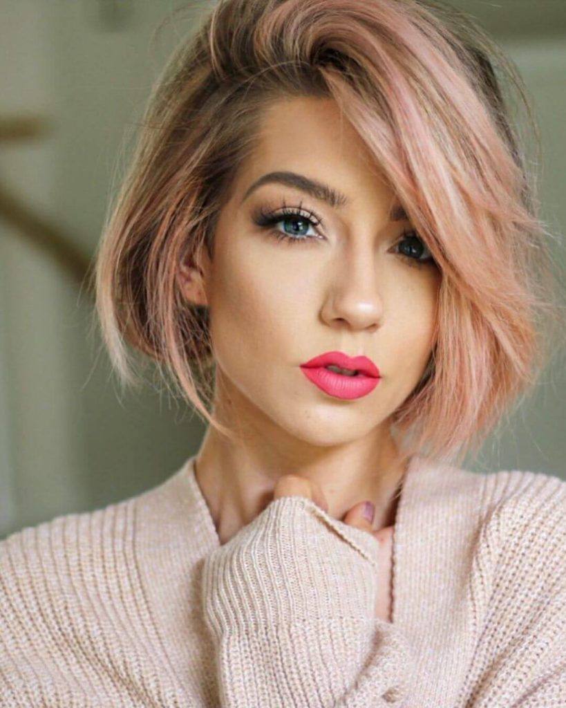prom Hairstyle Idea For Short Bob Hair