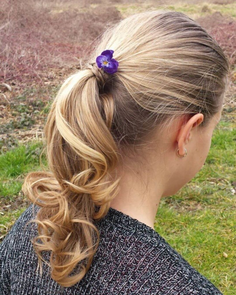 Simple Ponytails for teenage girls
