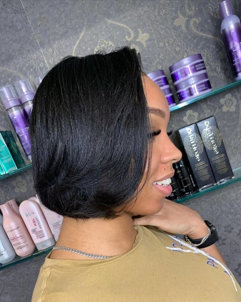 African American short bob hairstyles
