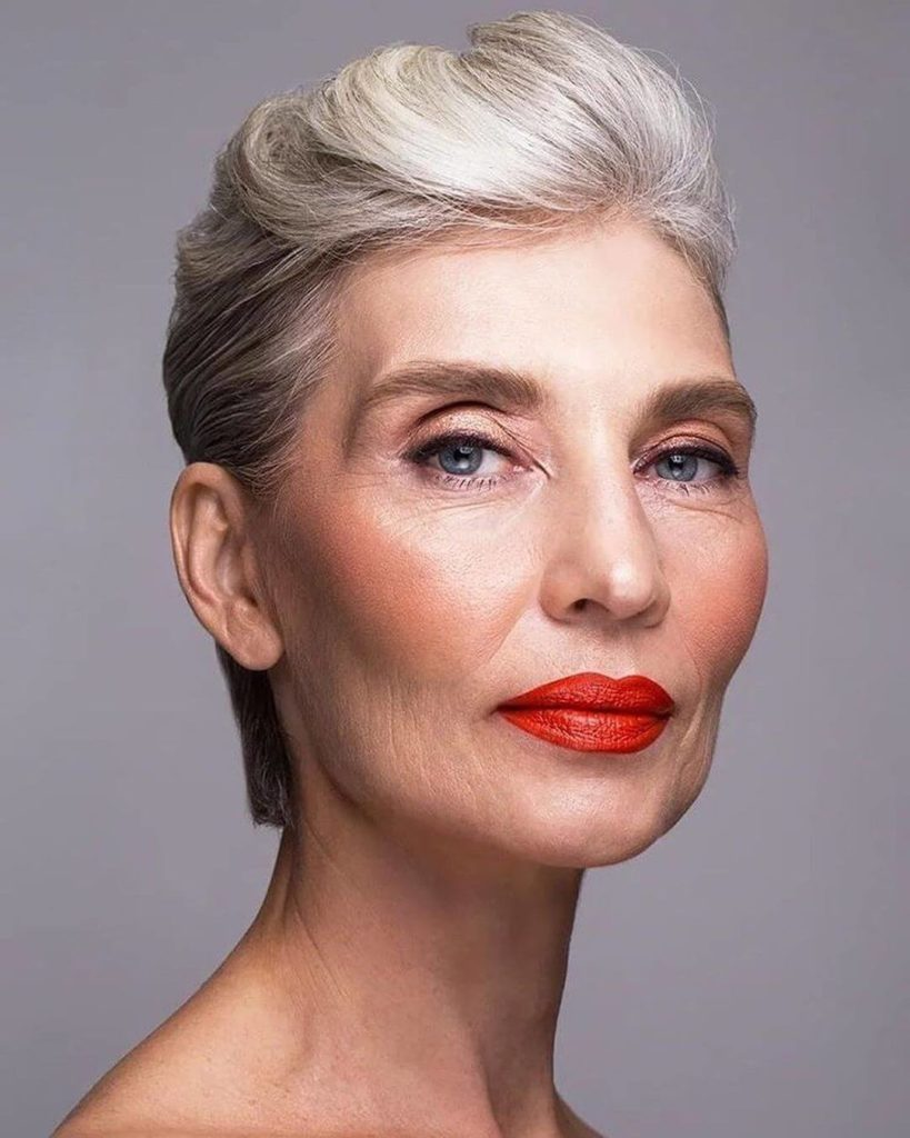haircuts ideas for women over 60
