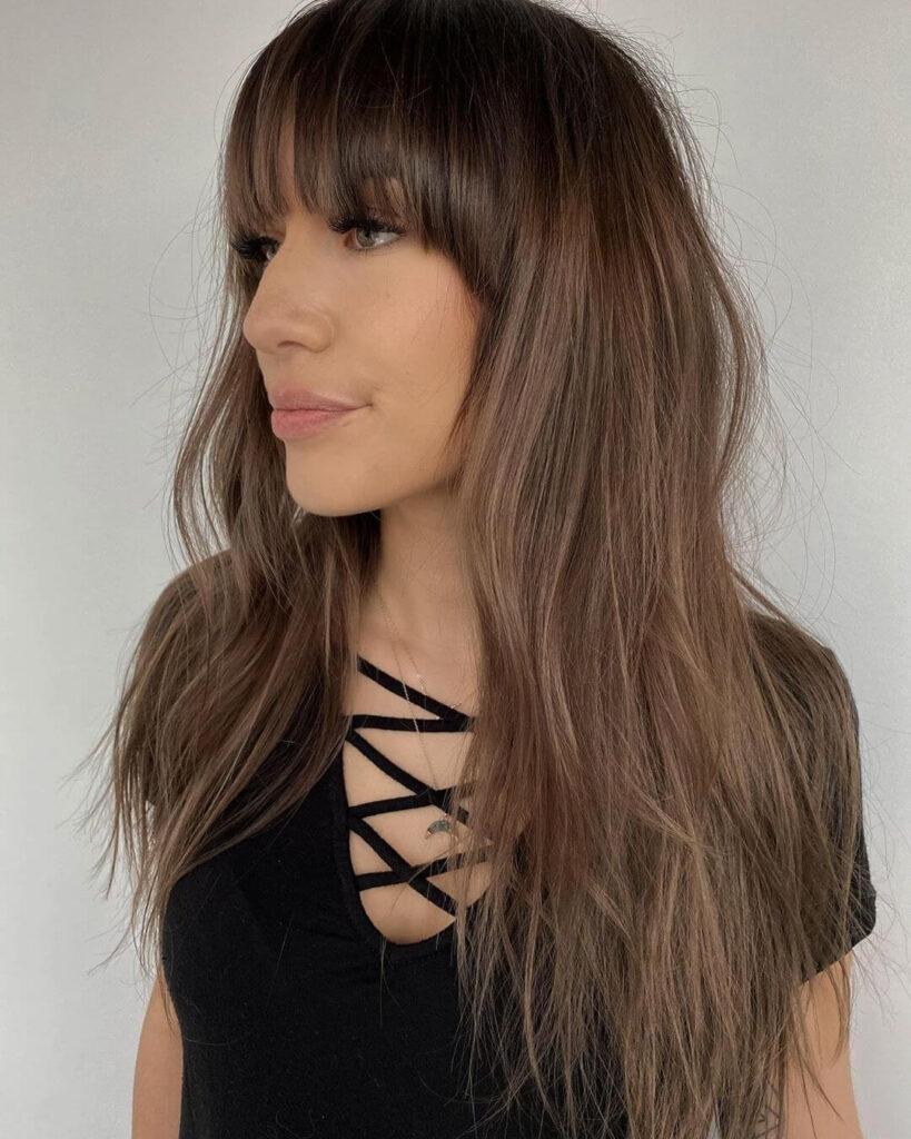 Thin Layers and Half-Moon Fringe