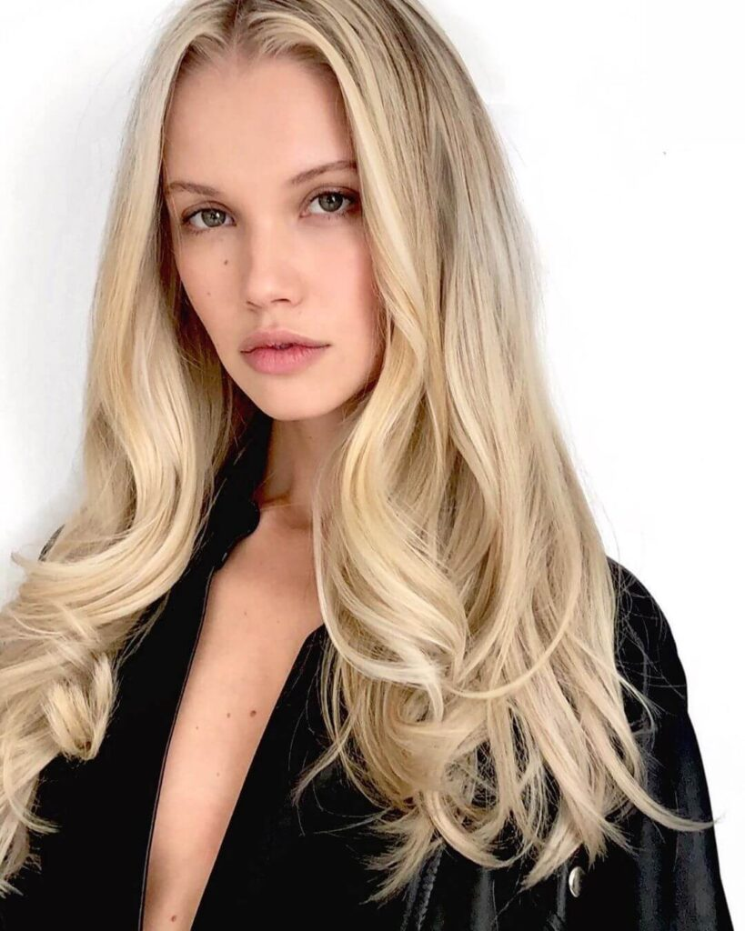 blonde highlights hairstyles